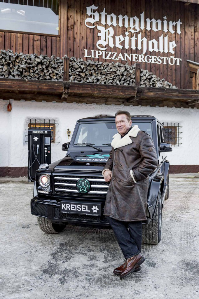 Kreisel Mercedes-Benz Electric G-Class