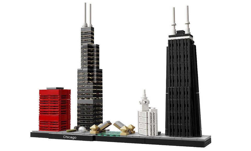 2017 lego architecture cities the awesomer for Architecture 2017