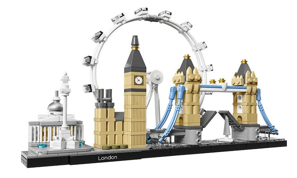 2017 lego architecture cities the awesomer for Architecture lego