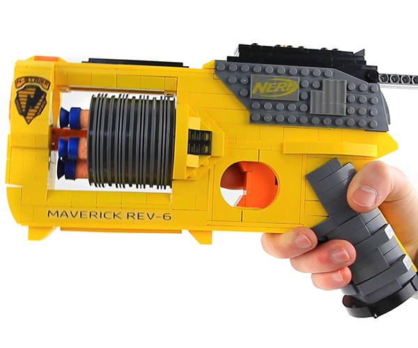 LEGO NERF Gun