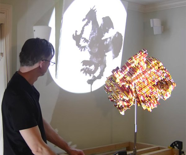 LEGO Magic Angle Sculptures