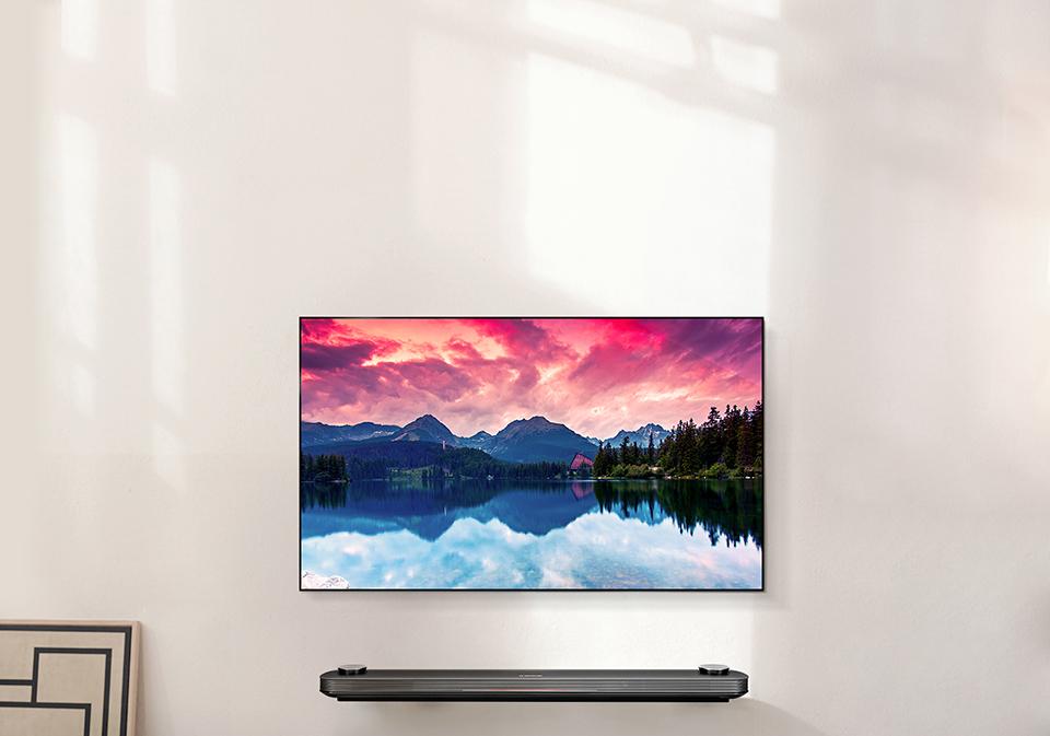 LG W Series OLED 4K TV
