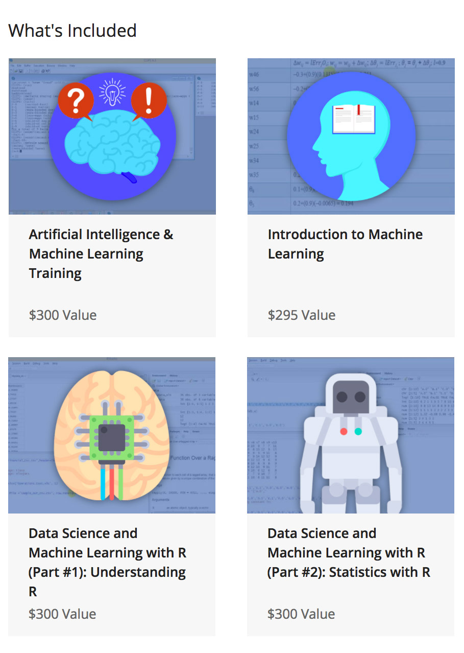 Deal: Machine Learning & AI for Business