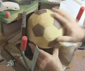 Making a Wooden Soccer Ball