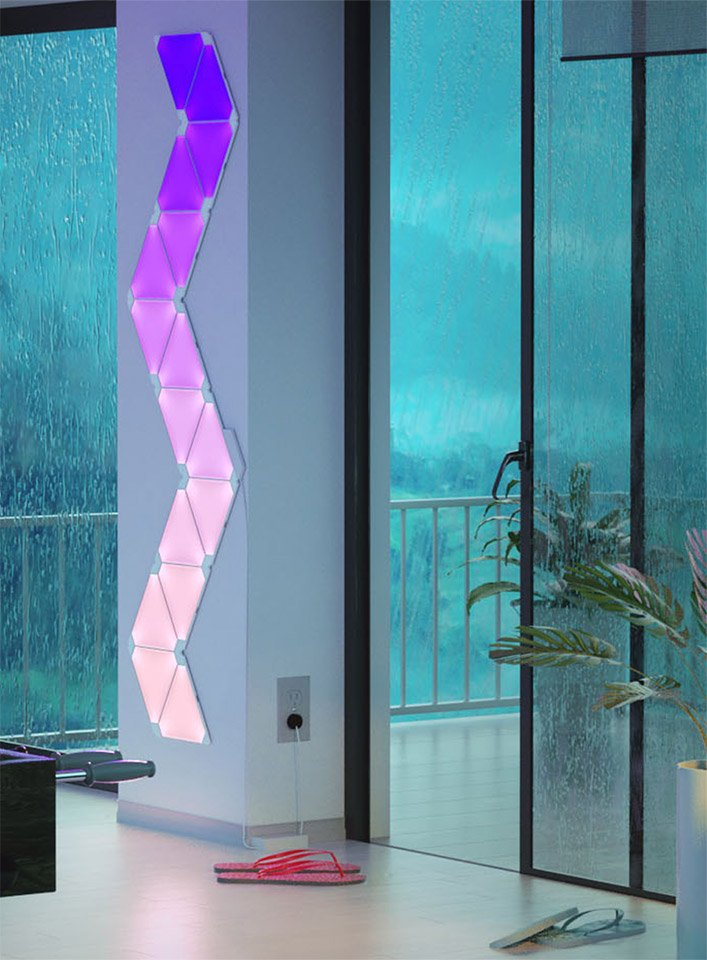 Nanoleaf Aurora Light Panels The Awesomer
