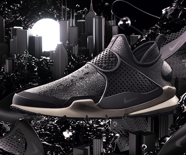 NikeLab x Stone Island Sock Dart Mid