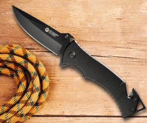 Deal: Folding Rescue Pocket Knife