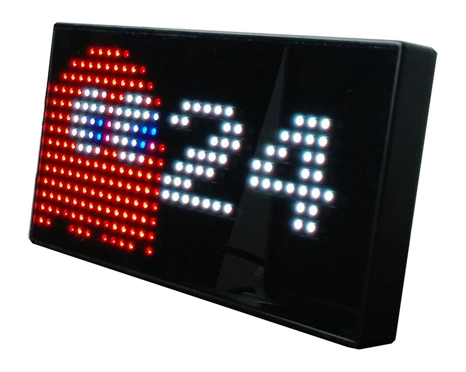 Pac-Man Clock
