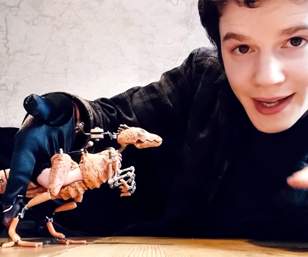 Raptor Puppet