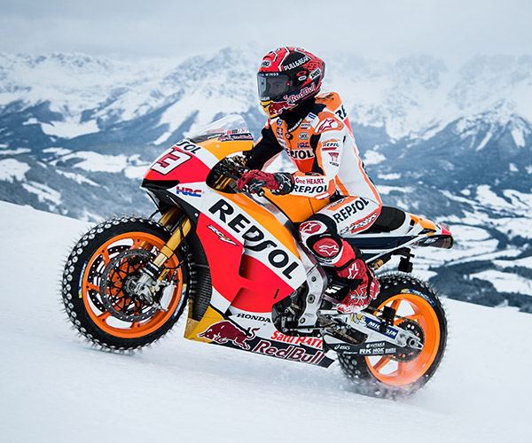 MotoGP Ski Run
