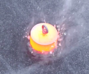 Red Hot Steel vs. Frozen Lake