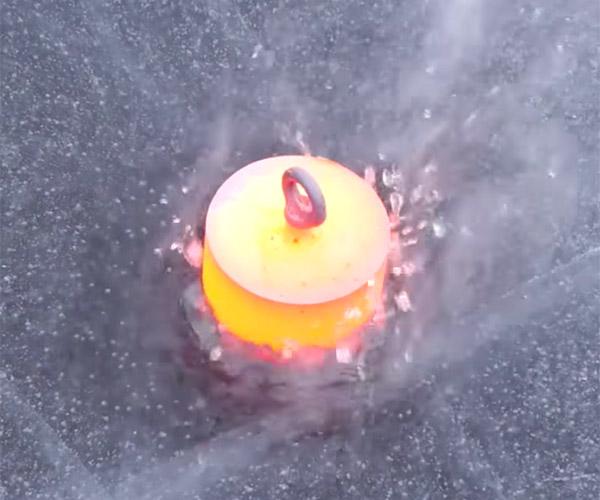 Red Hot Steel vs. Frozen Lake