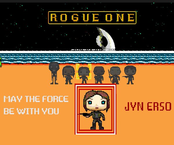 8-bit Cinema: Rogue One
