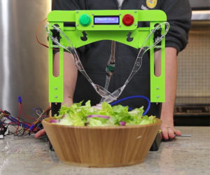 Salad Tossing Robot