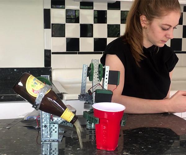 Simone's Beer Robot