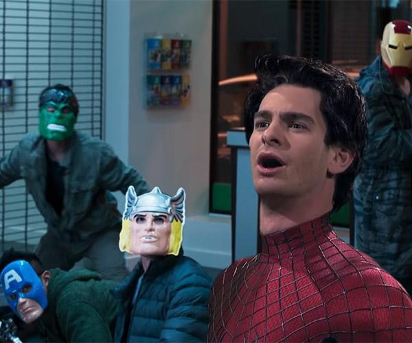 Spider-Man Homecoming Weird Trailer