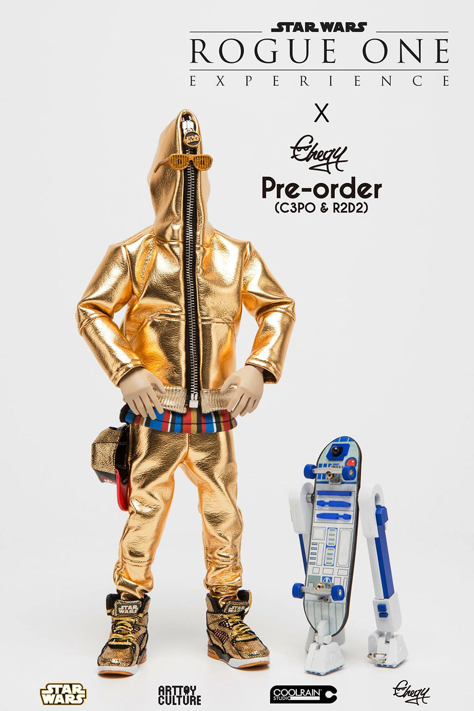 Chogy C-3PO & R2-D2 Action Figures
