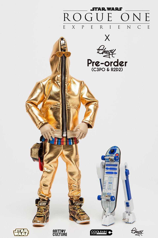 Chogy C-3PO & R2-D2 Action Figures
