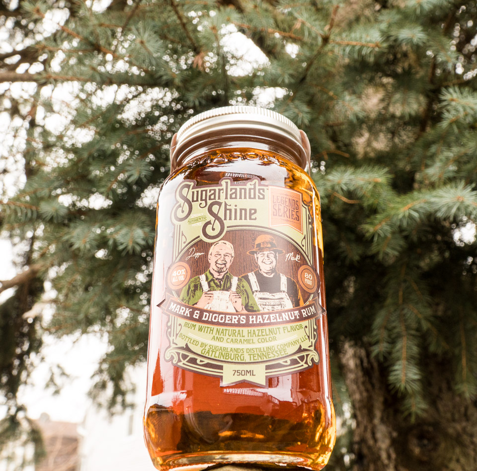 Sugarlands Shine Hazelnut Rum