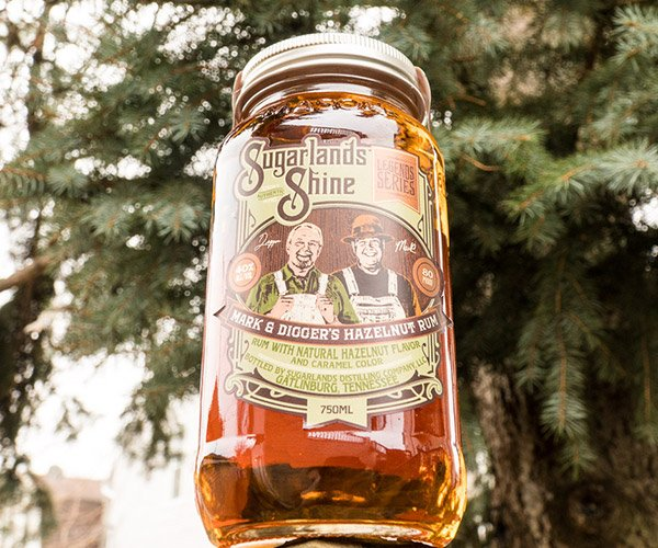 Sugarlands Shine Hazelnut Rum