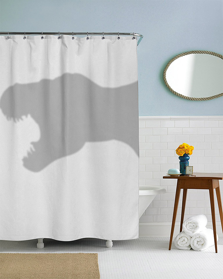 T-Rex Shower Curtain