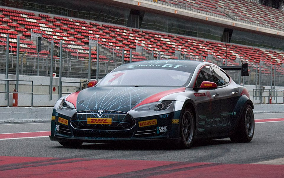 Tesla Model S GT Race Car