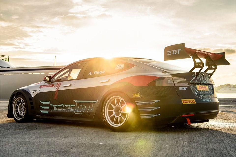Tesla Model S GT Race Car