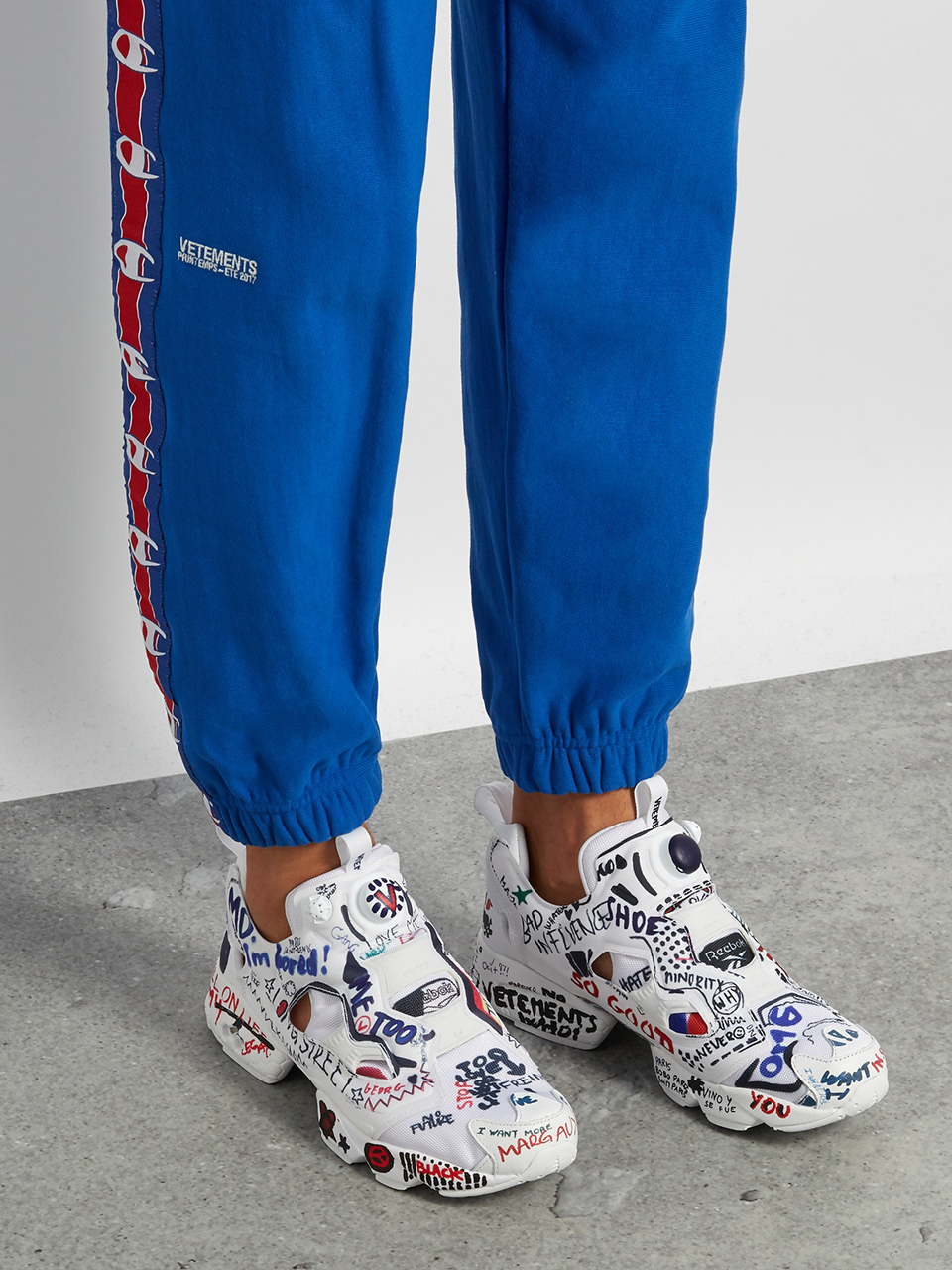 Vetements x Reebok Instapump Fury