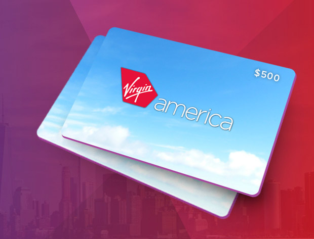 The $500 Virgin America Giveaway