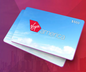The $500 Virgin America Giveaway