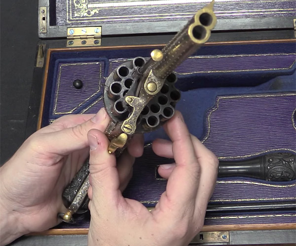 20-Shot Pinfire Revolver