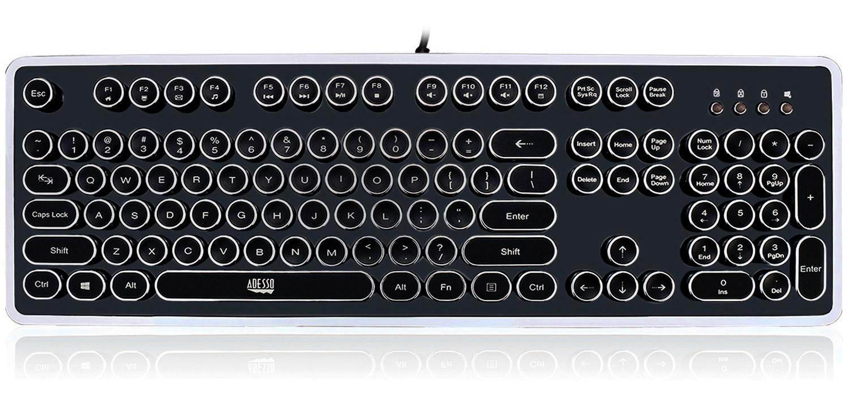 Adesso Retro Mechanical Keyboard