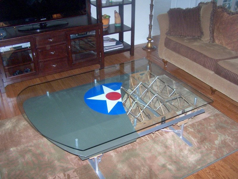 Airplane Wing Tables