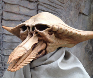 Creepy Alien Creature Masks