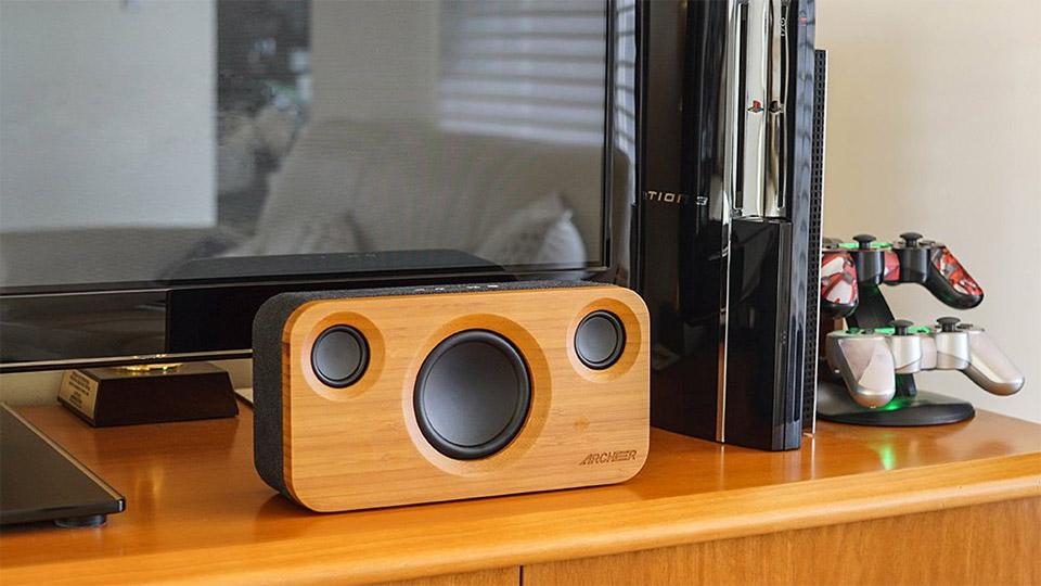 Bamboo Bluetooth Speaker