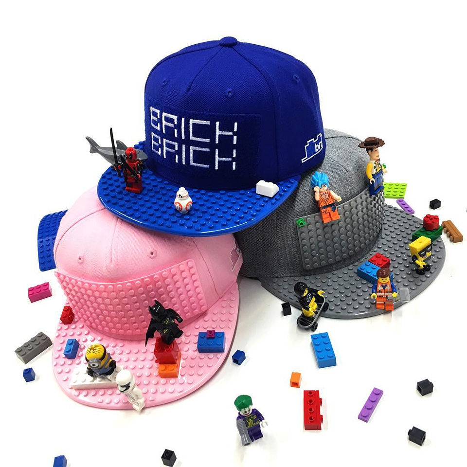 Brick Brick Gear Omega Hats