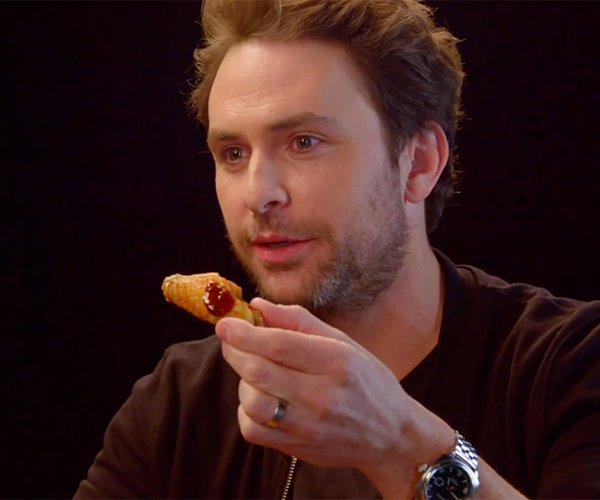 Charlie Day vs. Hot Wings