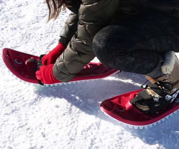 Crescent Moon Foam Snowshoes