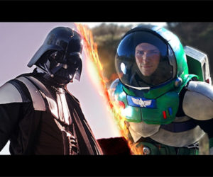 Darth Vader vs. Buzz Lightyear