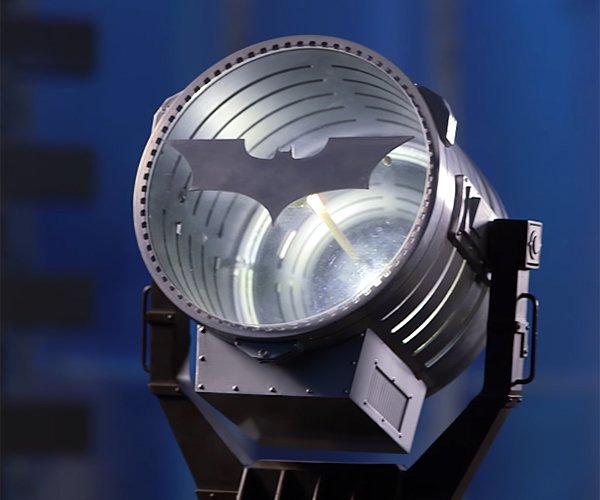 Bat-Signal Prop Nightlight
