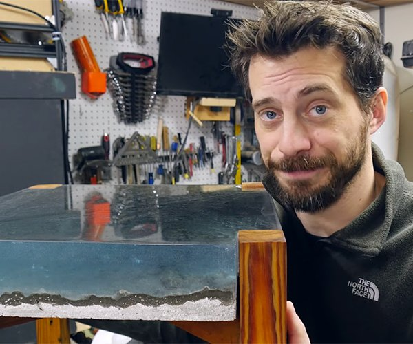 DIY Ocean Table