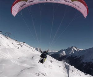 Drone Meets Paragliders
