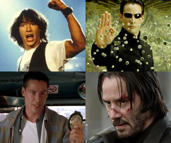 The Evolution of Keanu Reeves