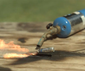 Exploding Batteries in Slow-Mo