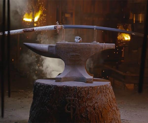 Forging a Nodachi