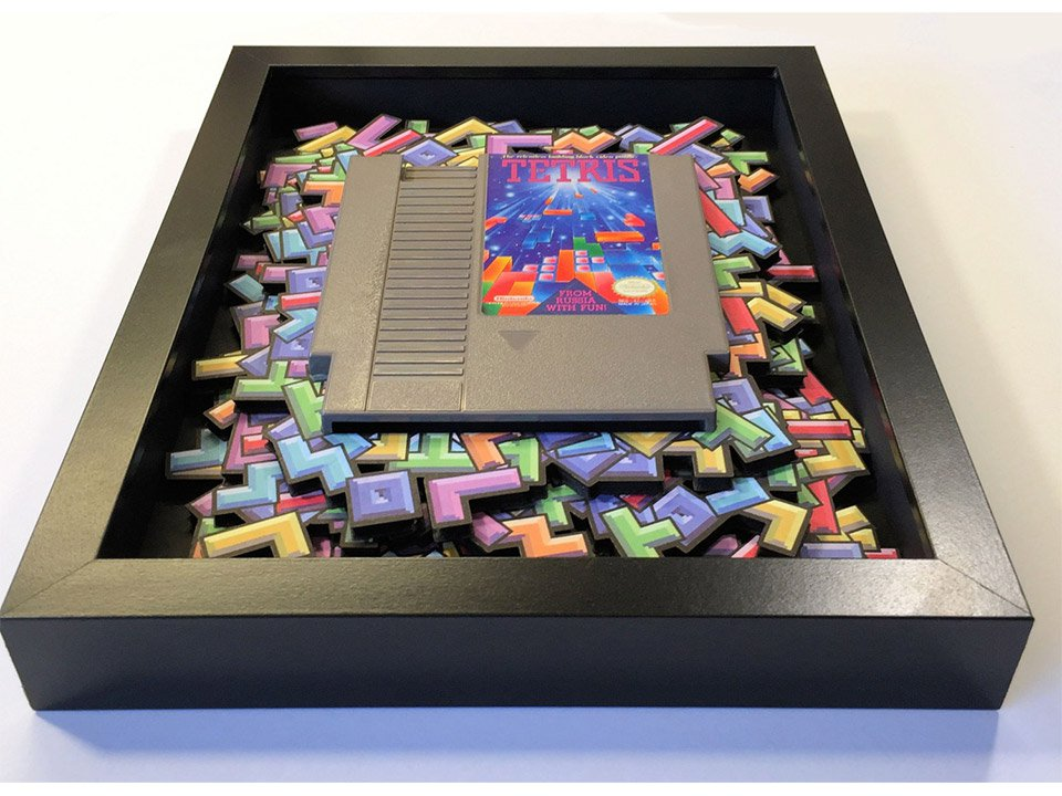 Video Game 3D Shadow Boxes