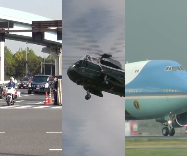 How the US President Travels