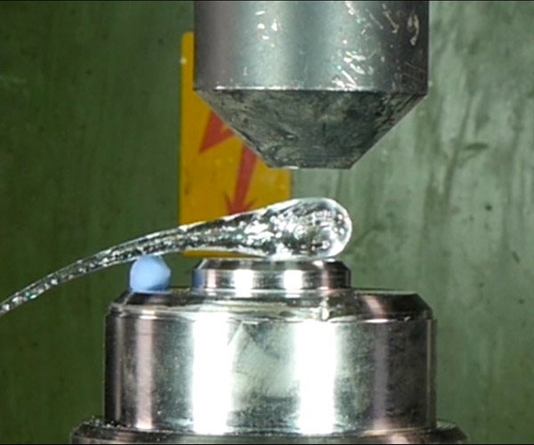 Hydraulic Press v. Prince Rupert's Drop