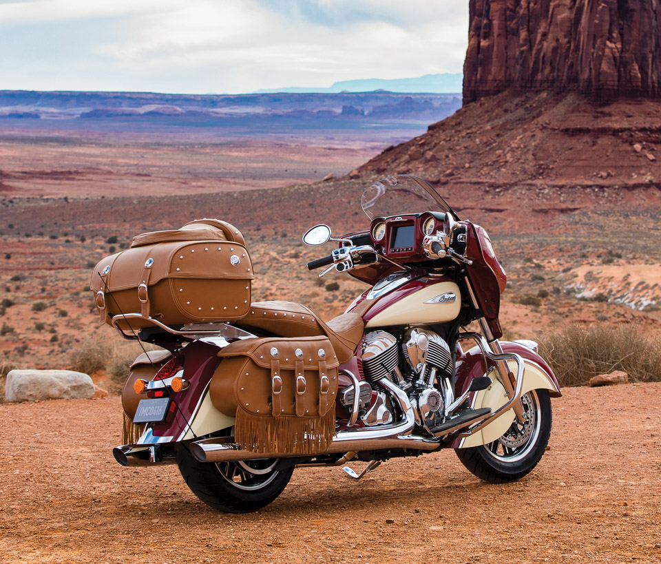 2017 Indian Roadmaster Classic The Awesomer