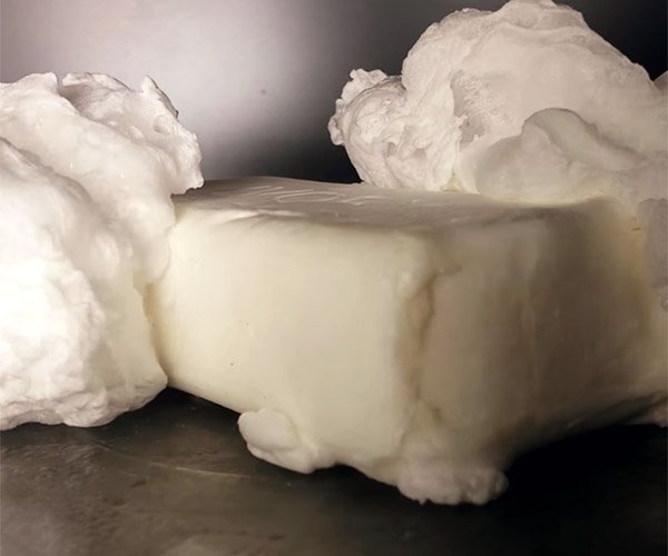 Inside the Microwave: Ivory Soap